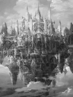 Sky Castle by Jae-Cheol Park (Paperblue)