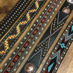 Love these belts from Allens Boots!