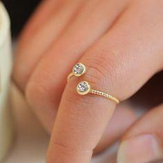 Let Me Sparkle Midi Finger Ring