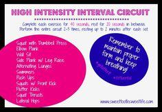 high intensity interval circuit1