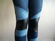 15 idées créatives pour repriser un jean | inspiration | Blog de Petit Citron