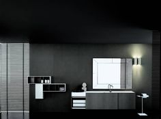 Italian craftsmanship, driven by the vision of iconic designers. Boffi, Wall Mounted Vanity, Corian, Vanity Units, Mirror, Wood, Design, Furniture, Bathrooms