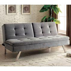 Found it at Wayfair - Riverside Tufted Flannelette Sleeper Sofa
