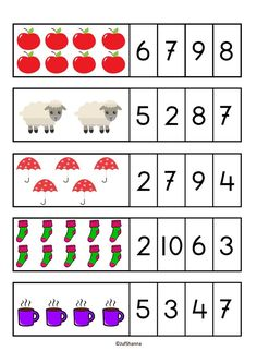 Back to school - math fun activities - 77 pages - color and b/w Kindergarten Math Worksheets, Preschool Learning Activities, Preschool Activities, Numbers Preschool, Math For Kids, Kids Education, Special Education, Nursery Worksheets, Homographs