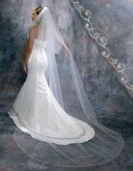 Symphony Bridal Veil 2926VL  Love the cathedral length.