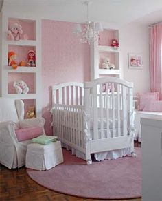 wall niches: either mdf or plaster, they are key in decorating a childs room!