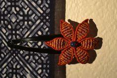 La Barrette à cheveux Fleur des Indes Macramé