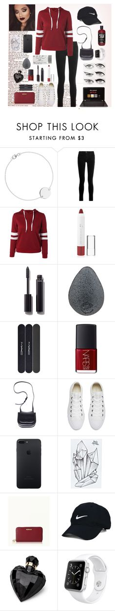 """Your Move"" by birdwithabrokenwing ❤ liked on Polyvore featuring J Brand, Forever 21, Chanel, MAC Cosmetics, NARS Cosmetics, The Row, Converse, GiGi New York, Nike Golf and Lipsy"