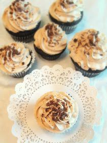 Jane's Sweets & Baking Journal: Deep Dark Chocolate Cupcakes with Fluffy Mocha Frosting . . .