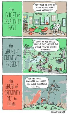 The Ghost Of Creativity - Writers Write