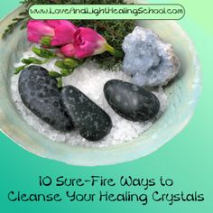 Crystals have the ability to receive, store, and transmit energy. For this reason, it is important to routinely cleanse crystals of unwanted or negative energies. By the time you bring your stone home, it has come into contact with many, many energies, and each person and place the crystal comes into contact with will leave … Read More