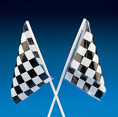 Great party decorations, these checkered flags will help you celebrate the speedway in style! Create race car centerpieces for your next birthday party with . Race Car Birthday, Cars Birthday Parties, Birthday Party Decorations, Birthday Ideas, 3rd Birthday, Sonic Birthday, Disney Birthday, Birthday Stuff, Nascar Party