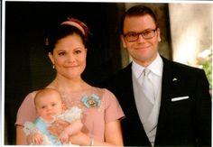 Crown Princess Victoria of Sweden , Prince Daniel and Princess Estelle