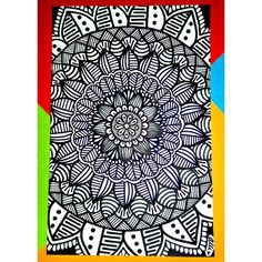Dibujos Zentangle Art, Beach Mat, Bb, Outdoor Blanket, Artist, Mandalas, Artists