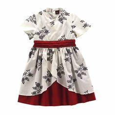 Tea Collection Miko Floral Print Dress in milk from Japan holiday 2009