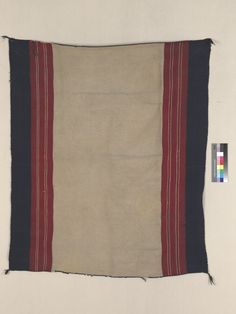 Full Image and Description Chief Seattle, Indian Blankets, Navajo Rugs, Anthropology, Woven Rug, Rio, 19th Century, Hand Weaving, Stripes