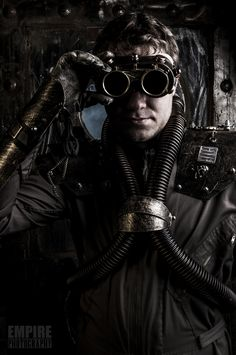 Steam punk diver by Jaco Bothma on