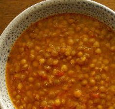 Fakes Soupa: A Delicious Greek Lentil Soup Recipe My mom makes this greek soup a lot, especially during Lent. Use canned lentil soup as your base( preferably Progresso soup) and just add tomato sauce, onions, garlic and small pieces of cut up carrots.