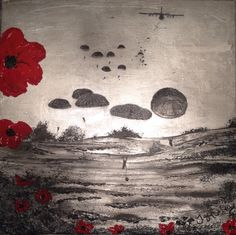 Ready For Anything by Jacqueline Hurley ~ Limited Edition Signed Giclée Print ~ War Poppy Collection Remembrance Art Army Tattoos, Military Tattoos, Lest We Forget Tattoo, Ww1 Art, Remembrance Day Poppy, War Tattoo, Original Paintings, Original Art, Poppies Tattoo
