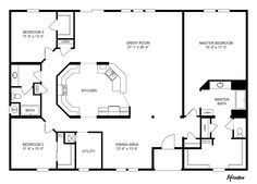 master bathroom! Clayton Homes | Home Floor Plan | Manufactured Homes, Modular Homes, Mobile Homes future big perfect bathroom great room utility room