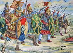 Byzantine Soldiers, VII Century AD.