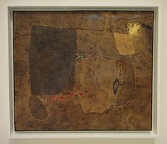 The life work of Alberto Burri was born in an American POW camp in Gainesville, Texas, where he was interned after the capture of his unit by the Allied forces in Tunisia in Defeated and conf… Alberto Burri, 2d Design, Mother And Child, Mixed Media Art, Fiber Art, Abstract Art, Abstract Paintings, Collage, Gainesville Texas