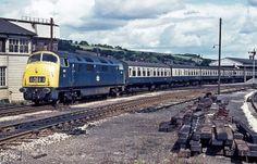 Railway Herald :: Imaging Centre :: 806 at Exeter St Davids Electric Locomotive, Diesel Locomotive, Britain Uk, Great Britain, South Devon, Old Trains, British Rail, Train Pictures, Great Western