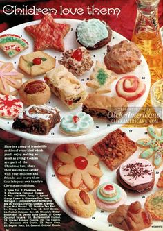 Share Tweet + 1 Mail Children love them Here is a group of irresistible cookies of every kind which you'll enjoy making as much ...