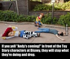 How to troll Disneyland staff