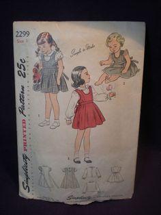 1940's jumper pattern