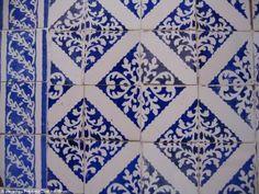 Portuguese tile in São Luiz, Maranhão, Brazil