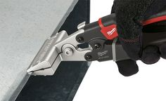 New Milwaukee Sheet Metal Tools: Tinner Snips, a Seamer, and a Crimper