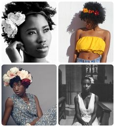 4 Natural Hair Styles That Complement Spring/Summer 2015 Fashion Trends