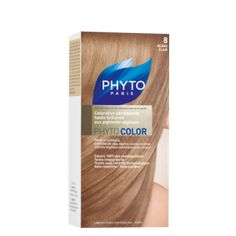 PHYTOCOLOR Permanent Coloring Treatment Shade 8 Very Light Blond