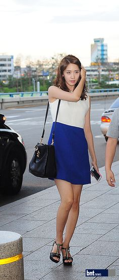 #snsd, Yoona at Gimpo Airport (July, 23rd) Press Pictures
