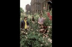 """Octopus Garden In the summer of 1968, as they were recording the songs that would appear on the """"White Album,"""" the Beatles invited famed war photographer Don McCullin to photograph them.  McCullin and the band John Lennon, Paul McCartney, George Harrison and Ringo Starr posed and goofed around in a variety of locations. The shoot has become known in Beatles lore as the """"Mad Day Out."""" A Day in the Life of the Beatles, published by Rizzoli, collects 100 images from that day."""