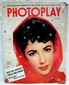 Elizabeth Taylor Photoplay cover