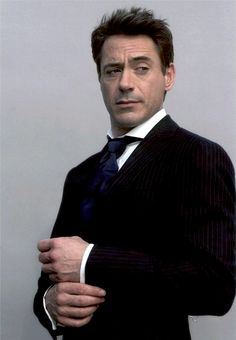 Robert Downey Jr. - the expressive eyebrows have it