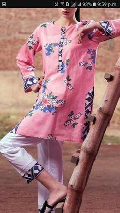 Stylish Dress Book, Stylish Dresses For Girls, Simple Dresses, Casual Dresses, Fancy Dress Design, Stylish Dress Designs, Simple Pakistani Dresses, Pakistani Dress Design, Sleeves Designs For Dresses