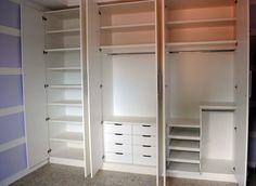 quartos pequenos de casal divisão dos armarios - Pesquisa Google