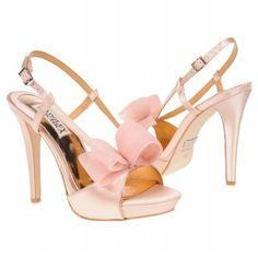 another Badgley Mischka shoe Badgley Mischka Bridal, Badgley Mischka Shoes, Blush Shoes, Pink Shoes, Bridal Shoes, Wedding Shoes, Wedding Attire, Walk This Way, Evening Shoes