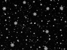 Snowing Texture with Big Snowflakes Free Commercial Download