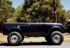 1967 Scout Topless Profile by mscoutin, via Flickr
