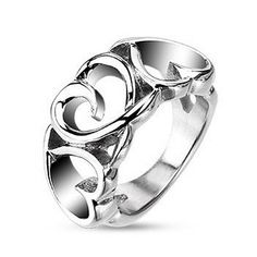 Like slices of wide open sky, the stunning, blue double bands of our True Blue Titanium ring capture your imagination and send your spirit soaring! It's a lot to ask from a ring, but this highly polis Titanium Jewelry, Titanium Rings, Heart Jewelry, Heart Ring, Jewelry Box, Wedding Rings For Women, Rings For Men, Blue Rings, Silver Rings