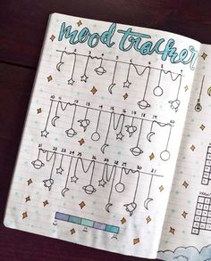 Bujo mood trackers that can help improve your mental health. This mood tracker . - DIY for home - Bujo mood trackers that can help improve your mental health. These mood trackers … - Bullet Journal Tracker, Bullet Journal Weekly Spread, Bullet Journal 2019, Bullet Journal Notebook, Bullet Journal Ideas Pages, Bullet Journal Inspo, Bullet Journal Layout, Bullet Journal Health, Bullet Journal Ideas For December