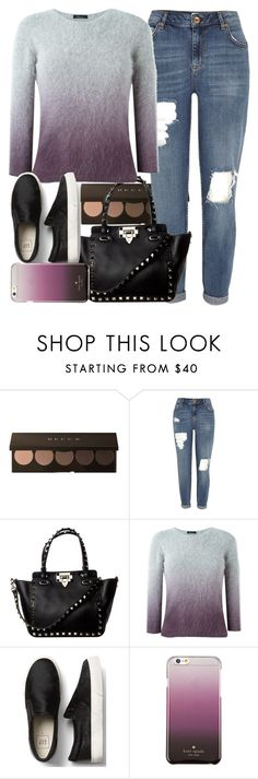 """""""Ombre"""" by marias1808 ❤ liked on Polyvore featuring River Island, Roberto Collina, Kate Spade, ombre and 60secondstyle"""