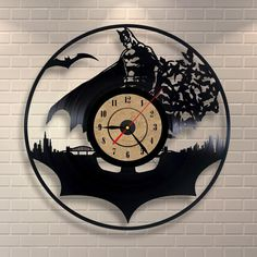 Hey, I found this really awesome Etsy listing at https://www.etsy.com/listing/257146896/batman-purse-inspired-vinyl-wall-record