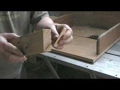 Les 5 fonctions des gabarits de coupe …. 5 jigs on table saw sled …… Kas...