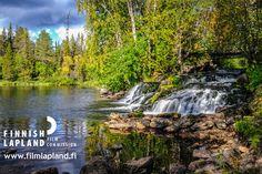 A rapid in Finnish Lapland. Photo by Tatu Kantomaa.