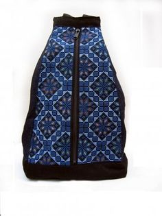 A whole backpack covered in embroidery?